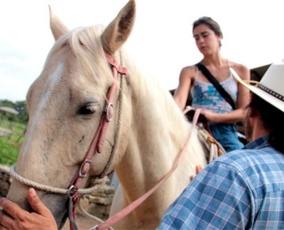 Organic Farm Horseback Riding Tour