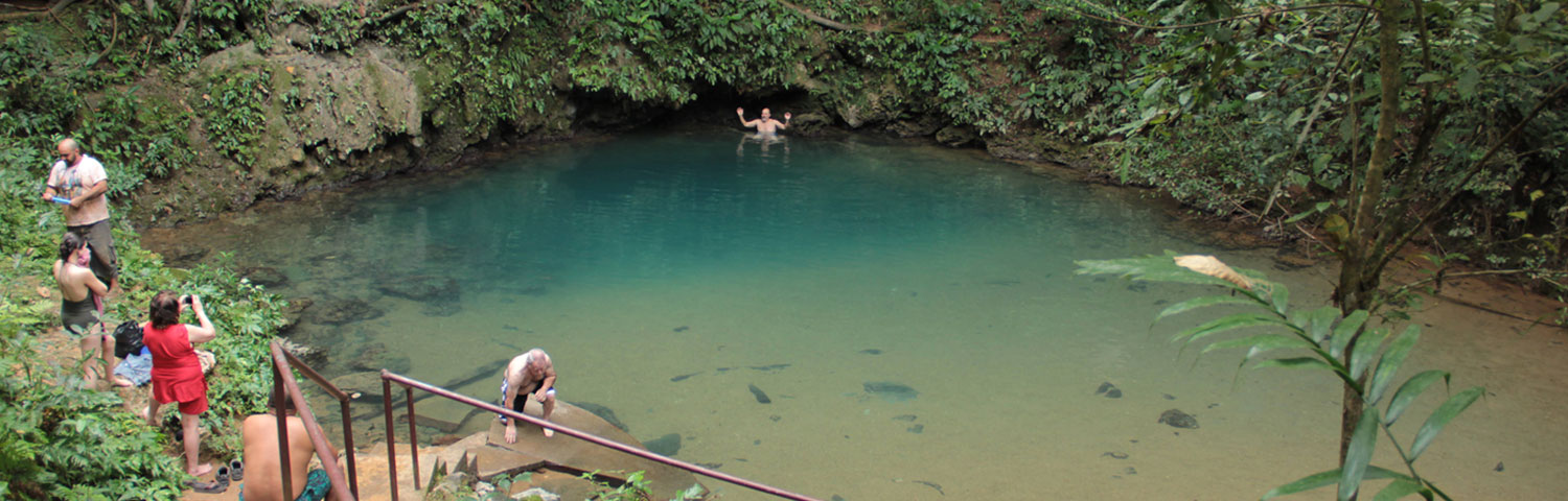 Belize Blue Hole Birding Tour with Maya Walk Tours